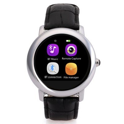 Smart Wearable Gear – H8S Round Dial Smartwatch Phone