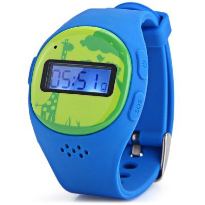 Smart Wearable Gear – HEDY W06 Kid Tracker Smartwatch
