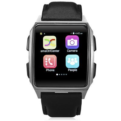 Smart Wearable Gear – X2 1.54 inch Android 4.4 3G Smartwatch Phone