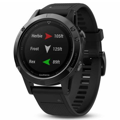 Smart Wearable Gear – Garmin Fenix 5 Smartwatch Bluetooth 4.0 Heart Rate Measurement