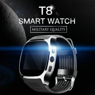 Smart Wearable Gear – T8 Bluetooth Smart Watch Smart Watch With Camera Facebook Whatsapp Support SIM TF Card Call Smartwatch For Android