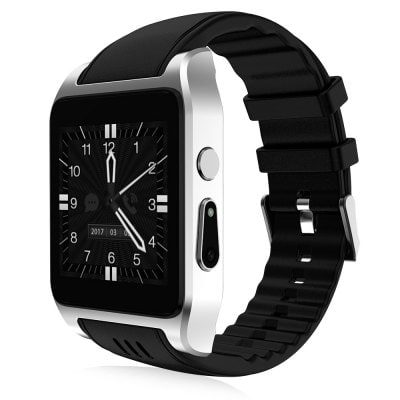 Smart Wearable Gear – X86 Android 4.4.2 Bluetooth 4.0 3G WIFI GPS LED Weather Heart Rate Monitor Fitness 512M 4G Smartwatch