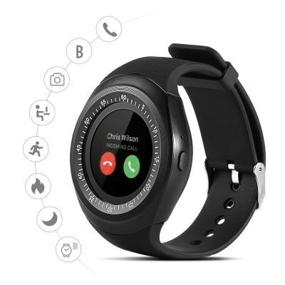 Smart Wearable Gear – Alfawise Y1 Bluetooth Sport Smartwatch with Independent Phone Function